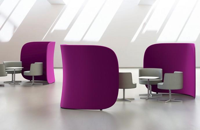 Diskretion in Lounge und Büro