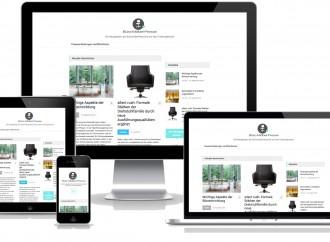 Büro-Möbel-Presse jetzt auf Smartphone und Tablet
