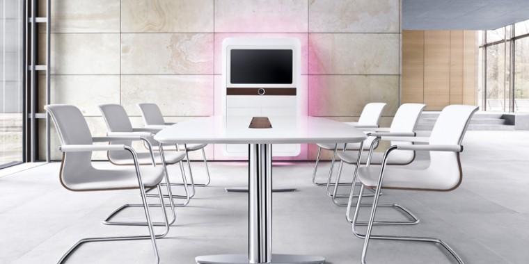 konferenzraum einrichten b ro m bel presse. Black Bedroom Furniture Sets. Home Design Ideas